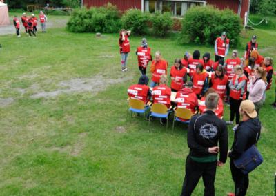pelastuspalveluharjoitus bigpepa leirillä